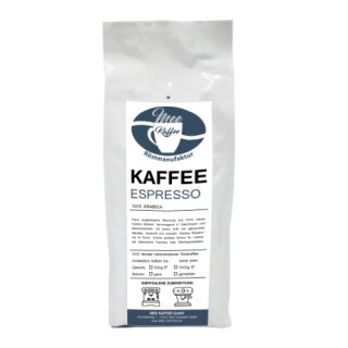 Mee Kaffee Kaffee Espresso 1000g