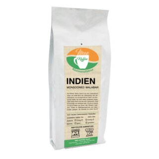 Mee Kaffee Indien Monsooned Malabar 500g