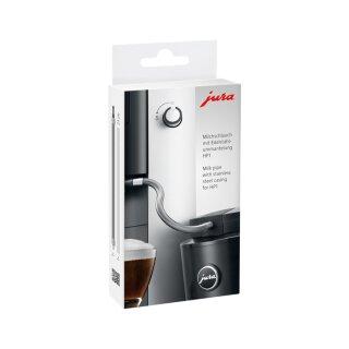 Milchschlauch mit Edelstahl Mantel für Jura E-Serie Kaffeevollautomaten