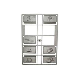 Jura Impressa Tastenrechen für X90 und S90 und X95 Kaffeevollautomaten