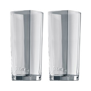 Latte-macchiato-Glas 2er-Set Gross 15cm