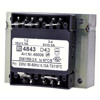 Nivona Transformator V60AJ-21D1XX2 NICR 7xx