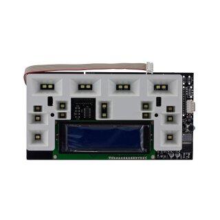 DeLonghi Steuerplatine PCB LCD(TSCREEN-16L)+GUIDA LUCE ESAM